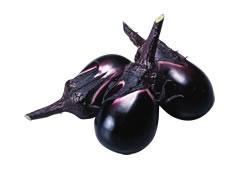 ヘタ紫なす